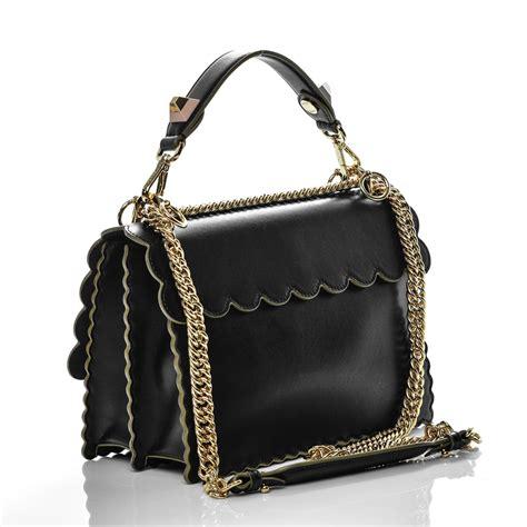 Fendi Kan I Shoulder Bag fendi calfskin studded kan i shoulder bag black 183962