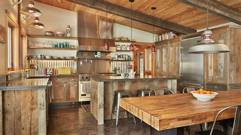 barn kitchen ideas the kitchen design 15 interesting rustic kitchen designs home design lover