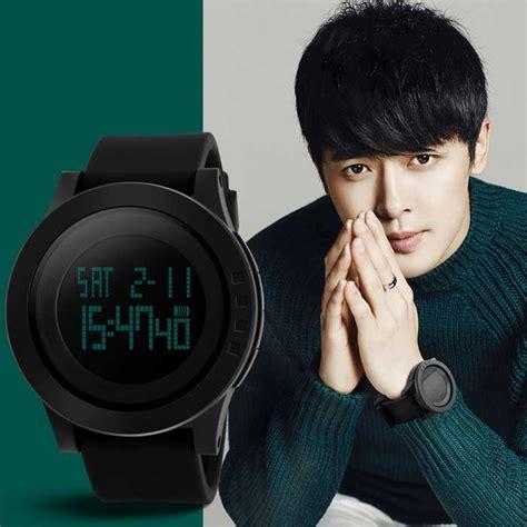 skmei 1142 led digital sports wrist black 1