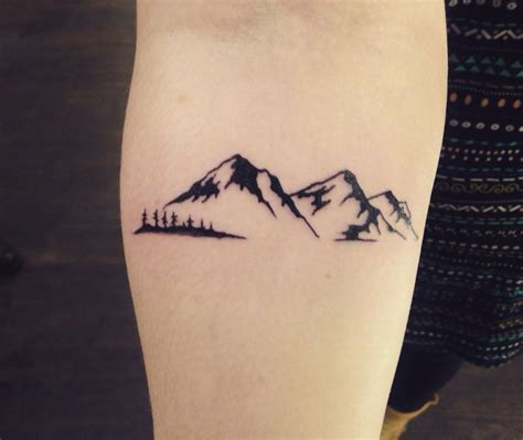 small mountain tattoo 17 best ideas about mountain tattoos on
