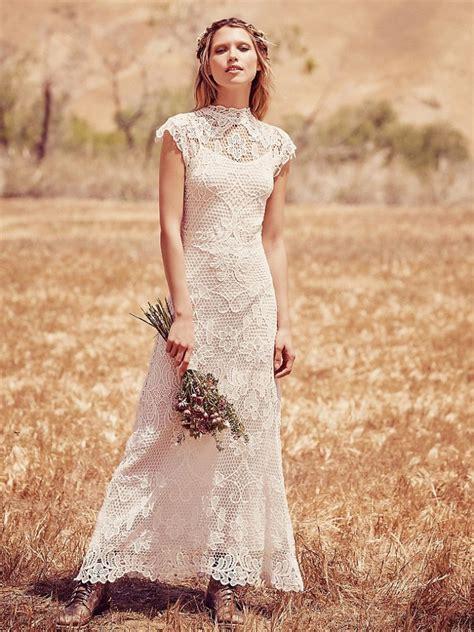 Schicke Brautkleider by Boho Chic Wedding Dresses For Summer 2018 Fashiongum