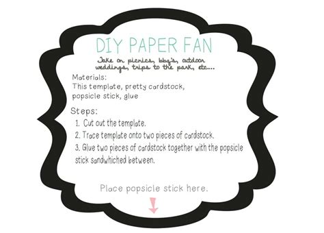 diy paper fans template free printable fan templates search results calendar 2015