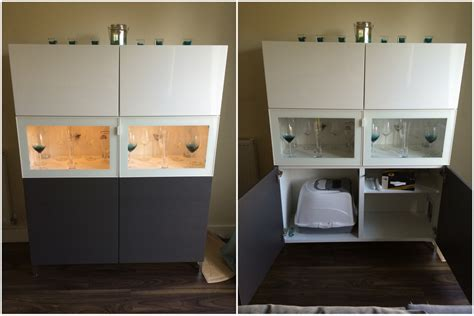 House Design Kitchen Cabinet a hidden litter tray in a best 197 unit ikea hackers