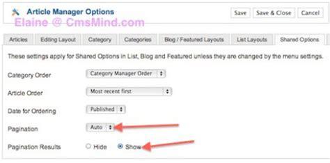 category blog layout joomla 2 5 joomla 2 5 tutorial add pagination to category blog
