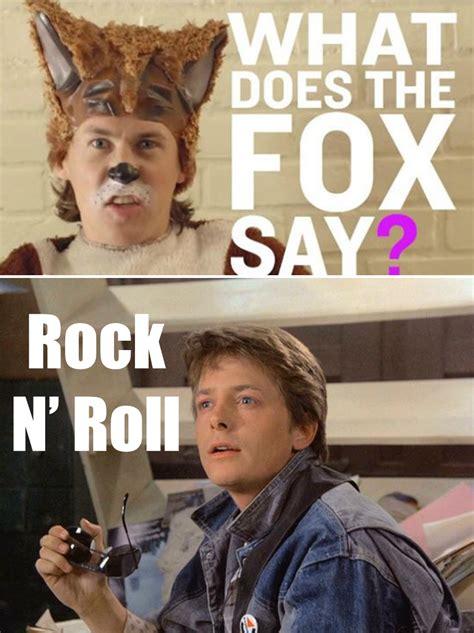Michael J Fox Meme - what does the michael j fox say ylvis the fox