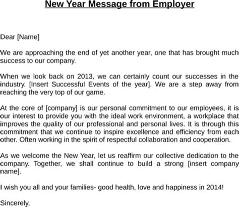 download happy new year message for free formtemplate