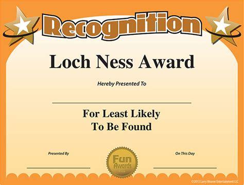 printable gag gift certificates free printable certificates funny printable certificates