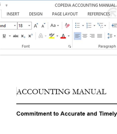 project management manual template d3 method project templates copedia