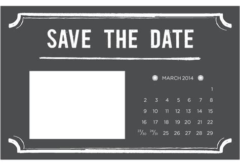 the date calendar card free template save the date template word invitation template