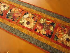 thanksgiving table runner fall harvest by patchworkmountain