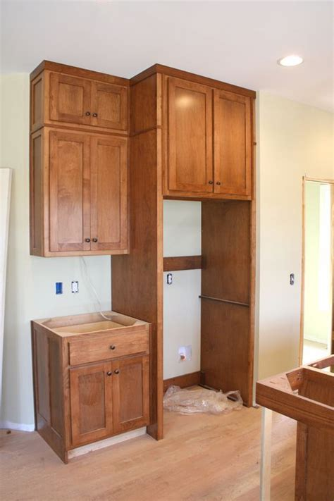 Cabinets Surrounding Refrigerator by Cabinets Fridge For The Home