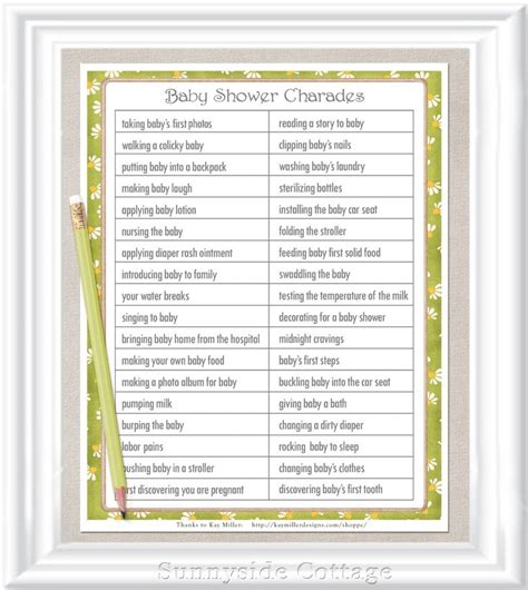 Baby Shower Charades Printable by 25 Best Ideas About Charades On Ideas For