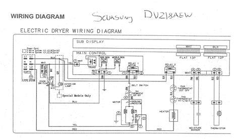 amana clothes dryer wiring diagram with blueprint pictures for