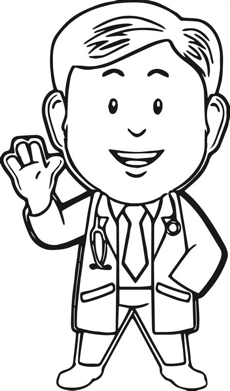 Coloring Pages For by Doctor Coloring Pages For Coloring Home