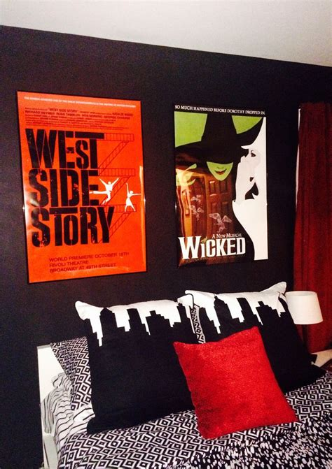 broadway themed bedroom pin by lisa puster on broadway stuff for mere pinterest