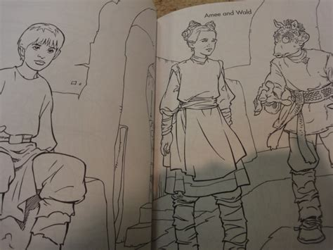 phantom menace coloring pages 640px