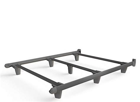 embrace bed frame embrace queen bed frame w glides gray gray raymour