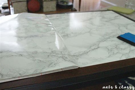 contact paper diy faux marble coffee table makeover tutorial 183 how to
