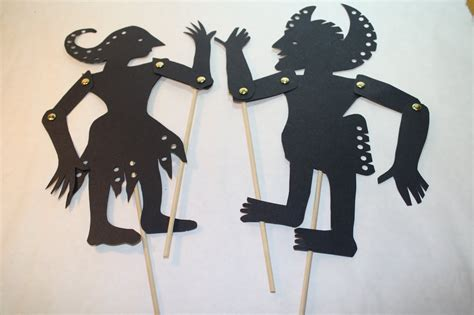 How To Make Paper Shadow Puppets - shadow puppet template www imgkid the image kid