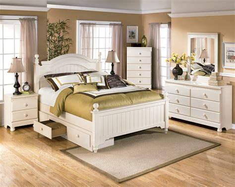 cottage retreat youth poster storage bedroom set from