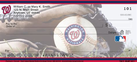 Washington Background Check Washington Nationals Mlb 174 Personal Checks