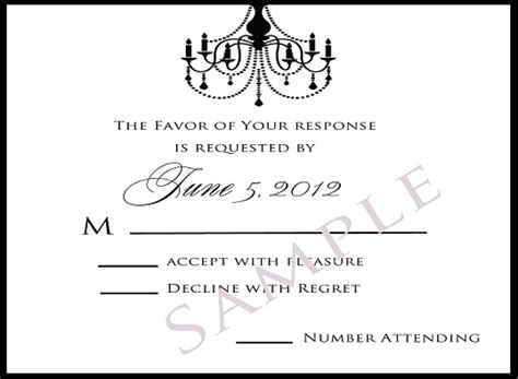 wedding invitations response invitation wording response card image collections