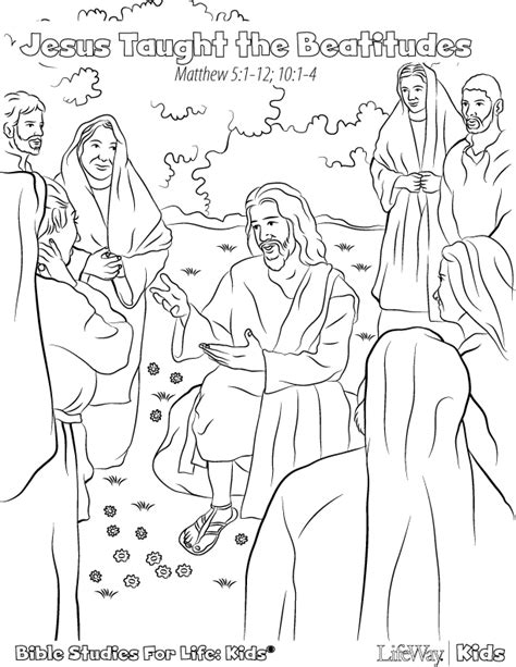 coloring pages of jesus sermon on the mount sermon on the mount coloring page sketch coloring page