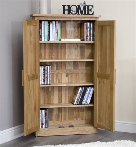 Oak Cd Storage Cabinet Arden Solid Oak Furniture Cd Dvd Storage Cabinet Cupboard Rack Unit Bookcase Ebay