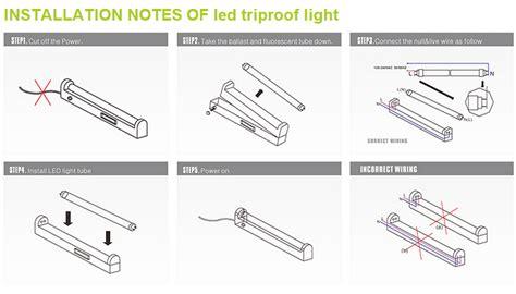 light batten wiring ip65 t8 led triproof light high bay light led