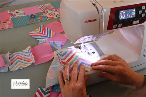 Sewing Quilt Squares Together by Baby S Cot Quilt Tutorial Ideal For Beginners Overdale