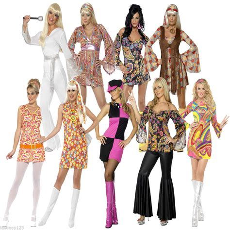 how to dress up for a disco party with pictures wikihow womens ladies 60s 70s retron hippie hippy groovy fancy