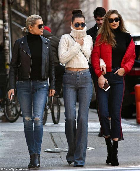 yolanda foster puffy jacket gigi and bella hadid s mother yolanda 53 looks slender