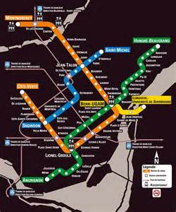 Metro Cadillac Montreal Montreal Metro Map Montreal Travel Guide
