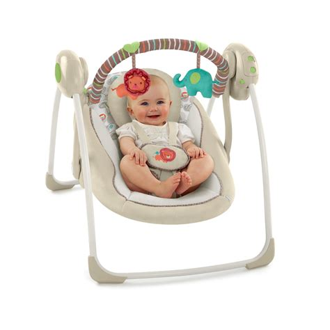 bright start comfort and harmony swing ingenuity portable swing cozy kingdom ebay
