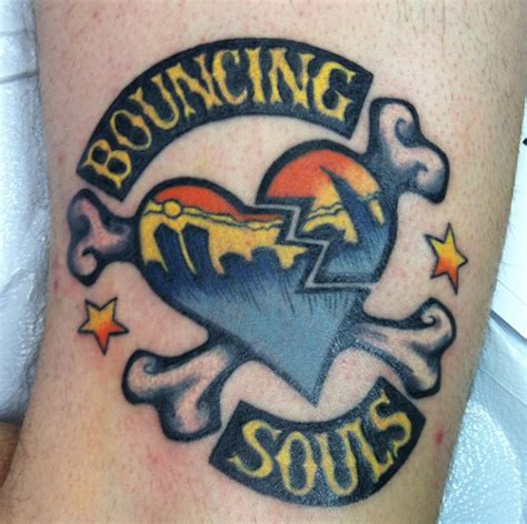 brown soul tattoos bouncing souls by mcfarland brown tattoonow