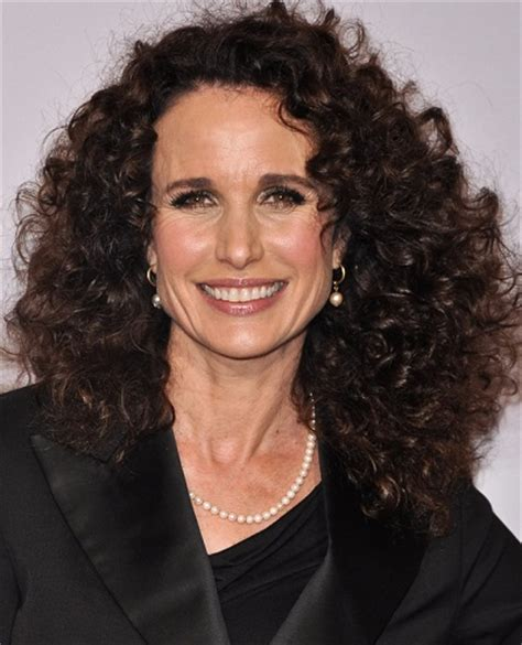 what nationalitiesare known for wiry hair andie macdowell ethnicity of celebs what nationality