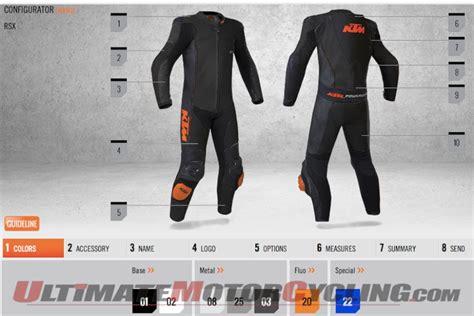 Ktm Leathers Ktm Custom Leather Suit Configurator Now