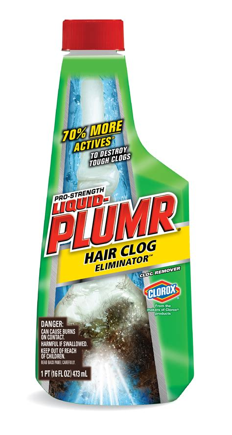 Liquid Plumr Hair Clog Eliminator 16oz