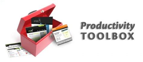 productivity toolbox: 37+ tools for taking action and