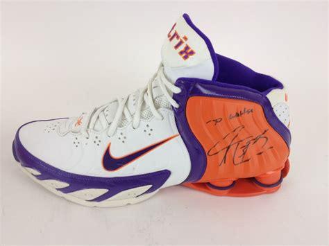 shawn marion game worn phoenix suns nike basketball shoes signed    brand  buya
