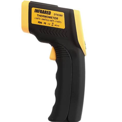 Thermometer Infrared Di Apotik dt8380 non contact ir laser infrared digital lcd thermometer gun 50 380 us 15 61