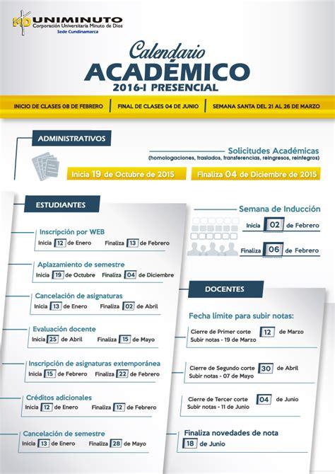 Calendario Academico Calendario Acad 233 Mico Calendario Financiero Portal