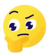 imagenes emoji pensando emoji thinking gifs tenor