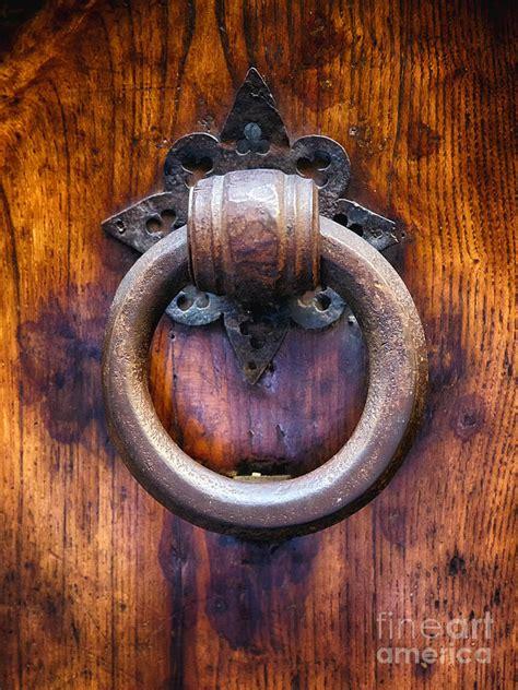 Vintage Door Knocker by Antique Door Knocker In Florence Photograph By George Oze
