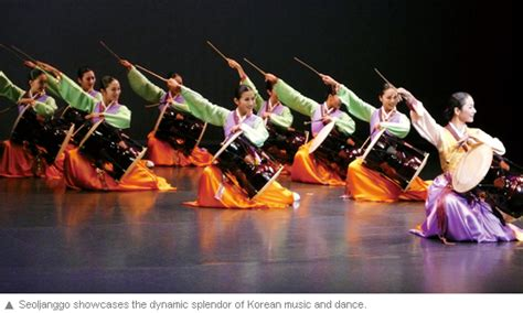 print page introducing traditional korean culture to australia