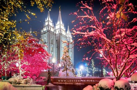 christmas at temple square video lds temple pictures