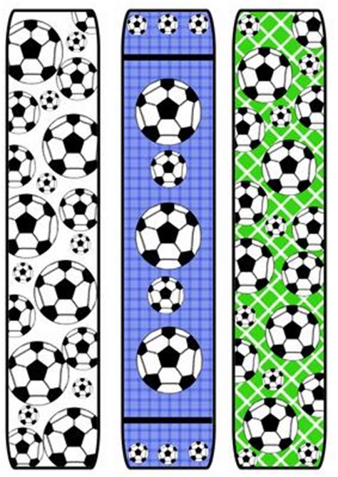 printable bookmarks soccer football soccer bookmarks cup5777 craftsuprint