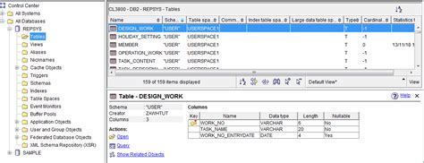 Syscat Tables by How To View Db2 Table Structure Stack Overflow