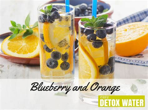 Orange And Apple Detox Water by Blueberry And Orange Detox Water Easy Detox Water
