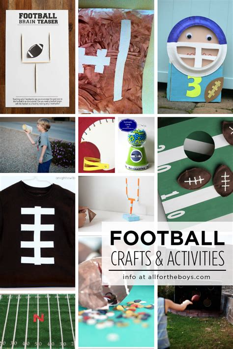 Football Papercraft - football crafts activities for all for the boys